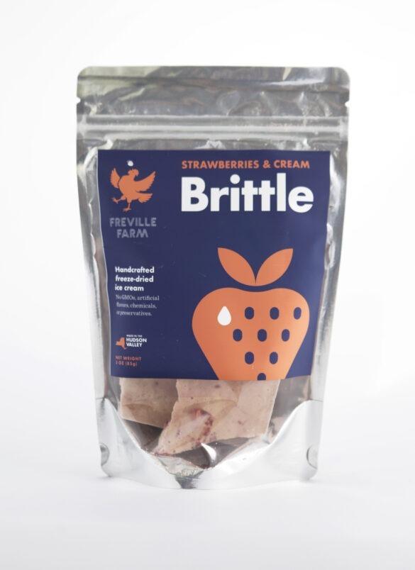 Strawberries & Cream Brittle