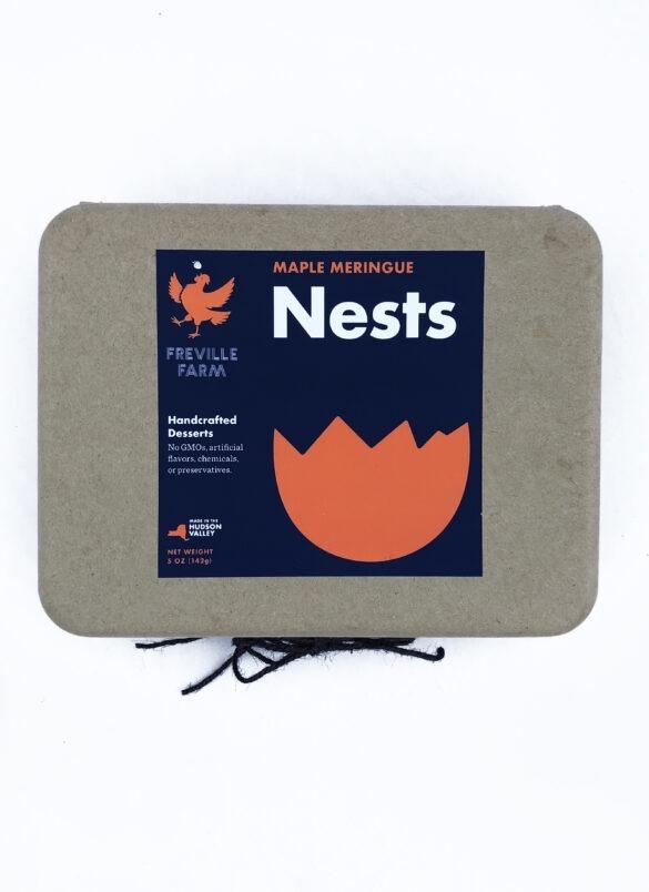 Maple Meringue Nests (2 dozen)
